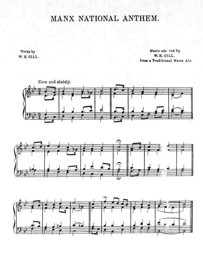 Isle of Man – nationalanthems.info